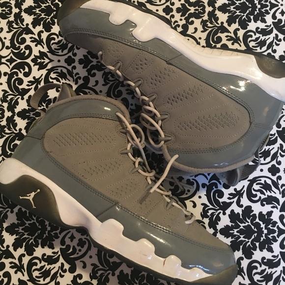e5902d0bff0a Jordan Shoes - Air Jordan Retro Cool Grey 9s Size 7y
